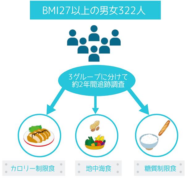 ダイエット効果を確かめるDIRECT調査の内容
